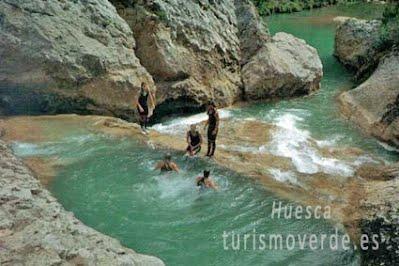 TURISMO VERDE HUESCA. Barranco en la Sierra de Guara